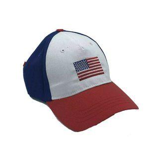 USA American Flag hat Stars Stripes Baseball Hat